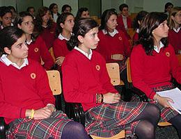 Alumnas del Colegio Puertapalma ponen en marcha un museo interactivo sobre calentamiento global