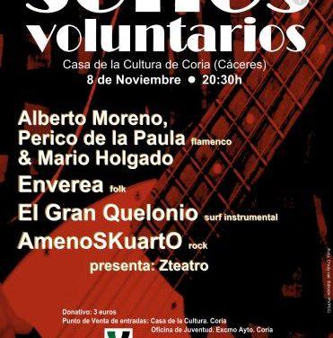 La casa de cultura de Coria acogerá este año la tercera edición de la gala musical Sones Voluntarios