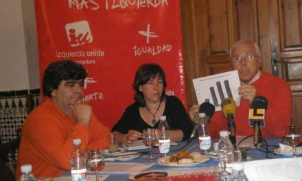 IU de Trujillo reclama al PSOE local que protagonice un giro hacia la izquierda con políticas más sociales