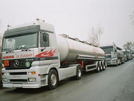 Fomento invierte cerca de 200.000 euros en un nuevo aparcamiento para vehículos pesados en Moraleja
