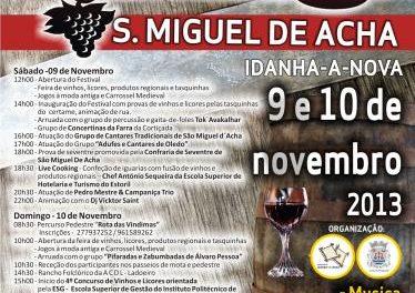 San Miguel de Acha celebrará el fin de semana el Festival de los Vinos y Licores con degustaciones y catas