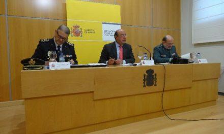 El delegado del Gobierno anuncia que la región cumple 21 meses como la más segura de España