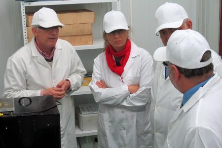 Teniente destaca la comercialización de los productos para que el valor añadido se quede en la región