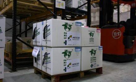 La Agencia de Cooperación Extremeña participa en un nuevo envío de material sanitario a Filipinas