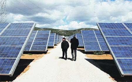 La escombrera de Villar del Rey se transforma en una planta fotovoltaica de 1,6 megavatios