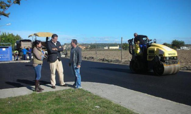 Comienzan las obras de asfaltado de calles en Rincón del Obispo con una inversión de 30.000 euros