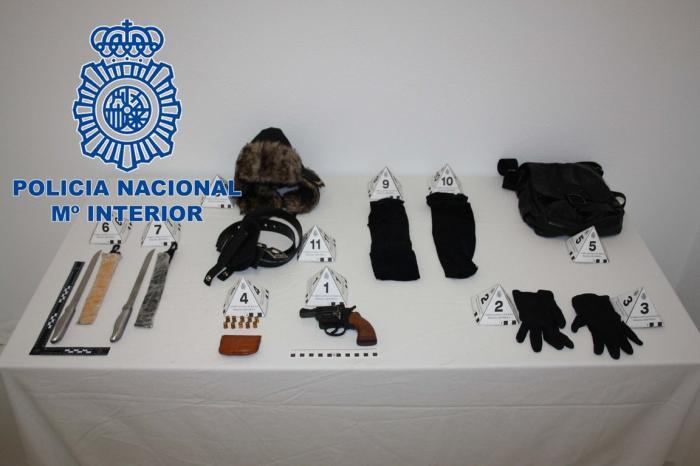 La Policía Nacional detiene al atracador que actuó el fin de semana cometiendo dos robos en Plasencia