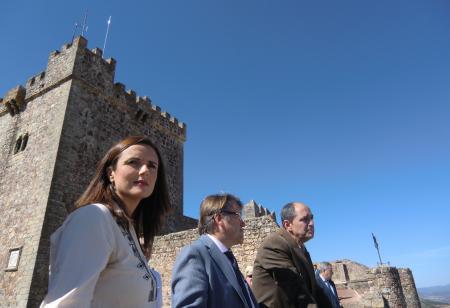 El Castillo de Alburquerque se reabre a las visitas turísticas tras una inversión de 60.000 euros