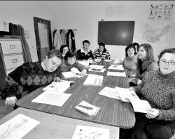 Niños que sufren  síndrome de down dispondrán en Zafra de un nuevo aula de estimulación sensorial