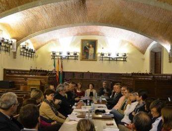 Pizarro se reúne con los cuerpos de seguridad y los agentes sociales para hablar sobre seguridad ciudadana