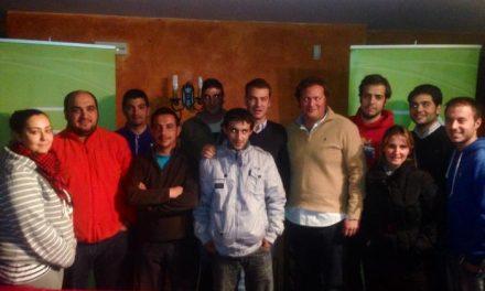 Nuevas Generaciones de la provincia de Cáceres crea una nueva junta local en Zarza La Mayor