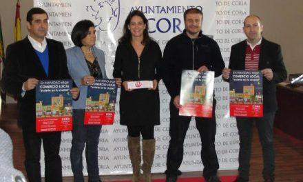 Los comercios de Coria sortearán 6.000 euros en cheques regalo durante la campaña navideña