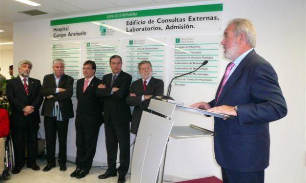 El Hospital Campo Arañuelo tendrá nueva farmacia y una sala de fisioterapia antes de que concluya este año
