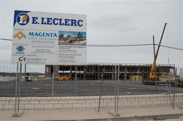 E. Leclerc anuncia que abrirá a finales de abril su hiper de Trujillo con 80 trabajadores y una inversíón de 10 millones