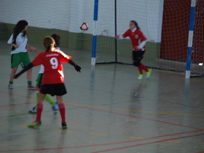 La A. D. Villa de Moraleja se proclama campeón del Torneo de Navidad de fútbol sala femenino