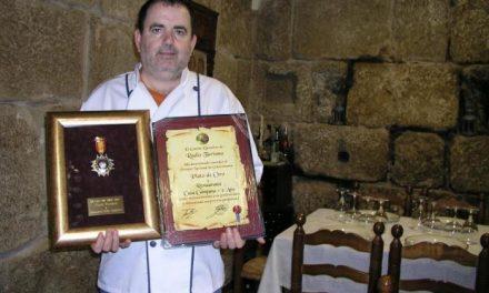 El cauriense Vicente Alcoba Lisero ha sido premiado con el premio de gastronomía Plato de Oro 2007