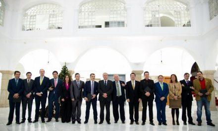 Manzano felicita a los galardonados en el acto de entrega de los premios OTAEX a la accesibilidad