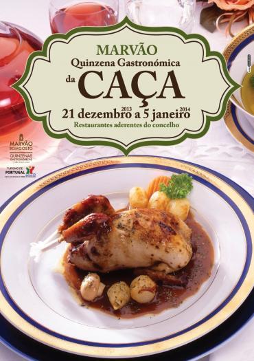 La III edición de la Quincena Gastronómica de la Caza de Marvão contará con 12 locales participantes