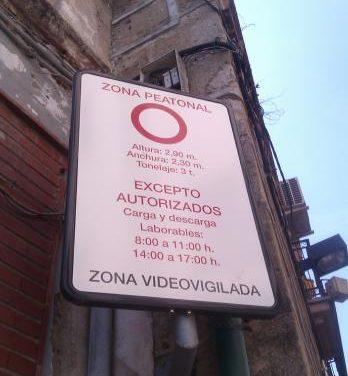 Plasencia aprueba la ordenanza de tráfico que vigilará con cámaras el acceso en coche al centro