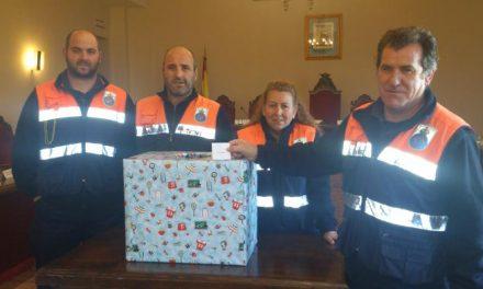 El boleto 008508 resultó ganador del sorteo de la cesta de Navidad de Protección Civil