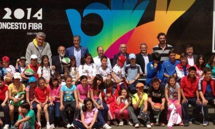 El camión de la Federación de Baloncesto promocionará el Campeonato del Mundo de Baloncesto en Cáceres