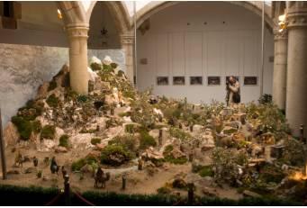 El Belén del Palacio de Carvajal de Cáceres permanecerá abierto al público hasta el 12 de enero