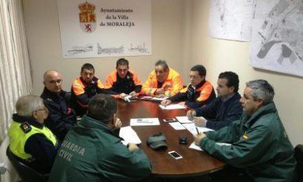 Moraleja celebra una reunión de coordinación de emergencia por el desbordamiento de cauces
