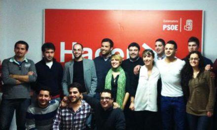 Juventudes Socialistas de Plasencia elige a Roberto Rivero como nuevo secretario general