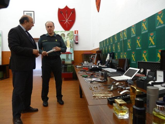 La Guardia Civil desarticula un grupo organizado dedicado al robo en farmacias y viviendas