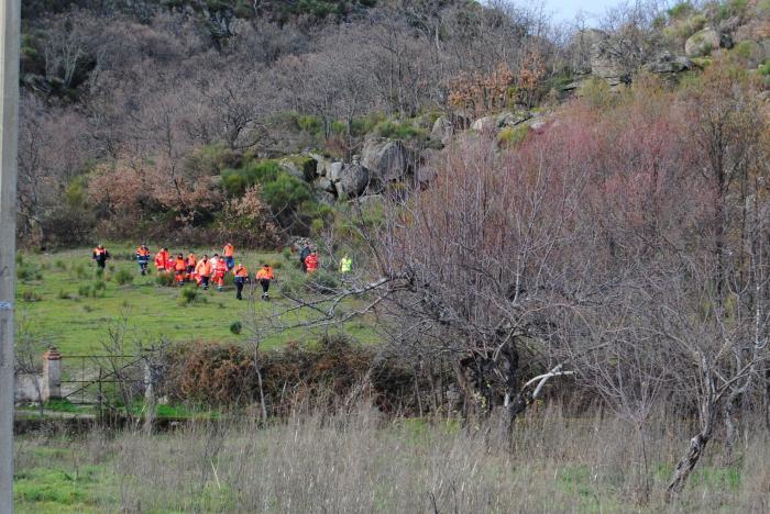 La búsqueda del anciano de Valencia de Alcántara se centra en la zona de la pedanía de Las Lanchuelas