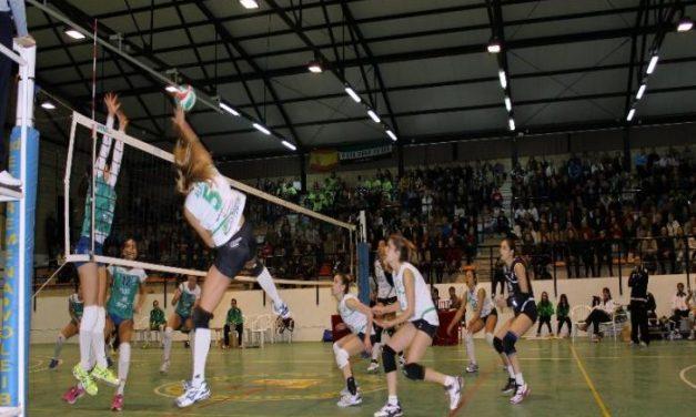 La Federación de Voleibol incluye a la moralejana Alba Sánchez en el septeto ideal de la primera vuelta