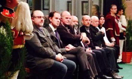 Plasencia entrega los premios San Fulgencio 2014 en una gala emotiva donde se homenajeó a Manuel Veiga