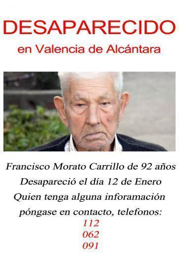 Grupos de cazadores se sumarán con perros a la búsqueda del anciano de Valencia de Alcántara