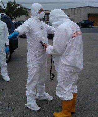 Extremadura y España están capacitadas para responder a emergencias como el simulacro de Almaraz