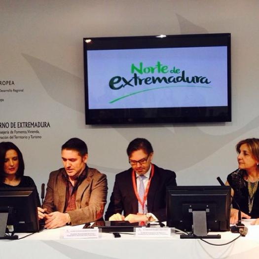 Plasencia y ocho comarcas del norte extremeño se presentan en FITUR como «una tierra de abundancia»