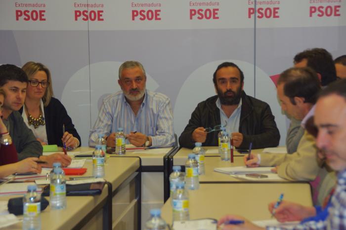 La Comisión Ejecutiva Provincial del PSOE de Cáceres exige una financiación sanitaria digna