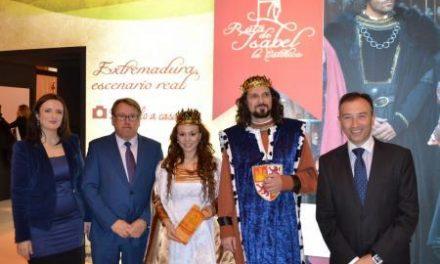 El Gobierno extremeño presenta en Madrid la ruta turística de Isabel la Católica en unión con 54 empresarios