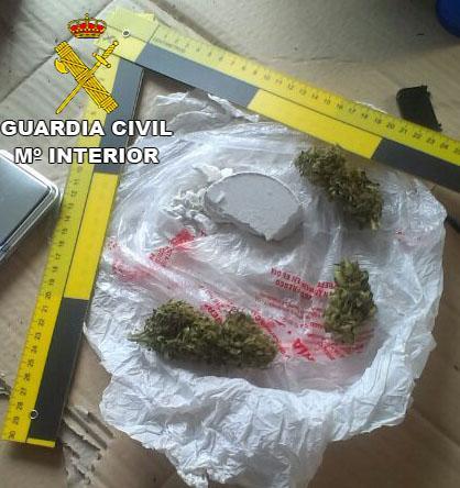 La Guardia Civil desarticula una organización delictiva dedicada al tráfico de drogas en varios pueblos cacereños