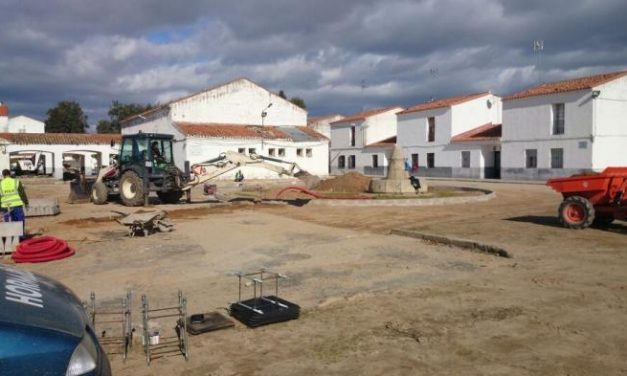 El Ayuntamiento de Coria pone en marcha las obras de adecentamiento de Rincón del Obispo