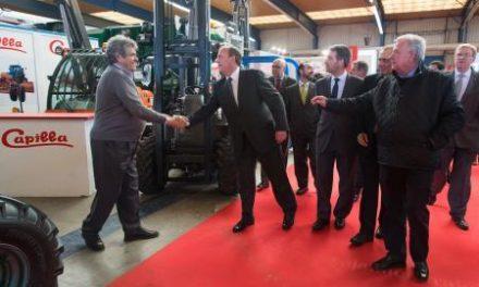 Monago aprovecha la inauguración de Agroexpo para felicitar a Acorex por buscar el consenso