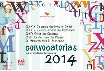 La Institución Cultural 'El Brocense' abre la convocatoria de los Certámenes Literarios 2014