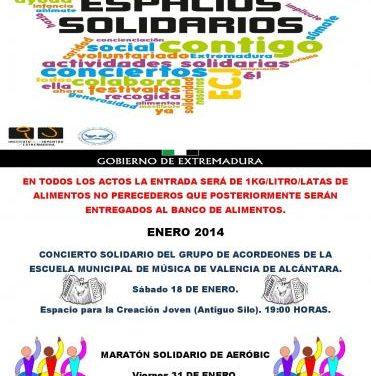 El Espacio de Creación Joven de Valencia de Alcántara celebra una maratón de aeróbic solidario