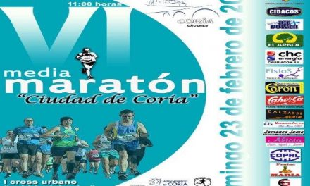 """La VI Media Maratón Ciudad de Coria contará con dos jornadas de entrenamiento y una """"quedada"""" previa"""