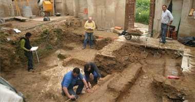 La excavación en las Casas Mudéjares en Badajoz descubre un jardín andalusí del siglo XII