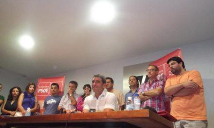 """David Núñez califica de """"deslealtad"""" la filtración de la baja de dos miembros del comité socialista de Plasencia"""