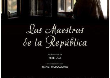 """UGT proyectará el día 20 en Plasencia el documental ganador del Goya """"Las maestras de la República"""""""