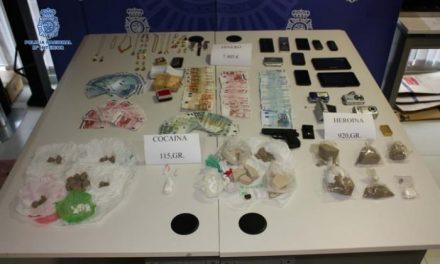 La Policía Nacional desmantela unos de los puntos de venta de drogas más activos de Plasencia