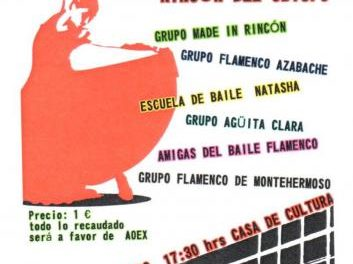 Rincón del Obispo acogerá el sábado el I Festival de Flamenco Benéfico en la Casa de Cultura