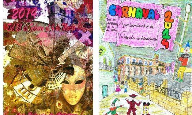 Paula Bohórquez y Elena Díaz ganan el concurso de carteles del Carnaval de Valencia de Alcántara