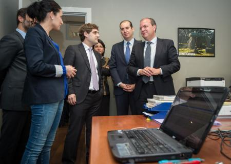 Monago asegura que el Gobierno regional es de las administraciones que mejor pagan a sus proveedores